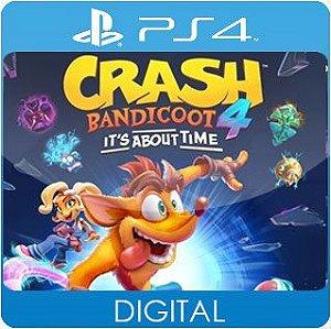 Crash Bandicoot 4: It's About Time PS4 Mídia Digital