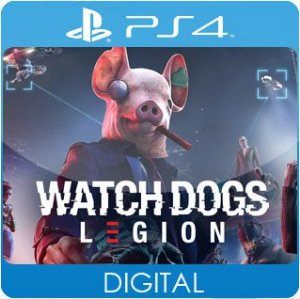 Watch Dogs: Legion PS4 Mídia Digital