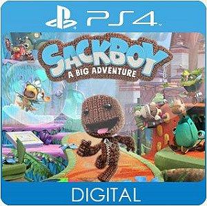 Sackboy: Uma Grande Aventura PS4 Mídia Digital