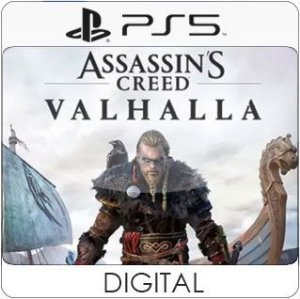 Assassin's Creed Valhalla PS5 Mídia Digital