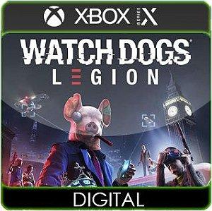Watch Dogs Legion Xbox Series X|S Mídia Digital
