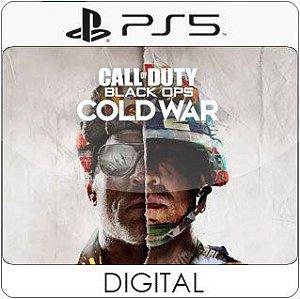 Call of Duty: Black Ops Cold War PS5 Mídia Digital
