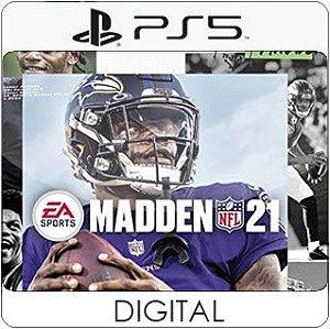 Madden NFL 21 PS5 Mídia Digital
