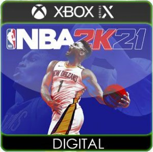 NBA 2K21 Next Generation Xbox Series X|S Mídia Digital