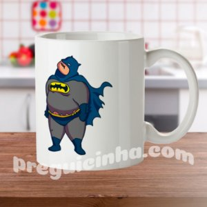 Caneca personalizada Batman Gordo