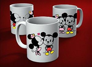 Caneca personalizada Mickey e Minnie