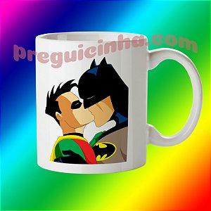 Caneca personalizada Batman e Robin
