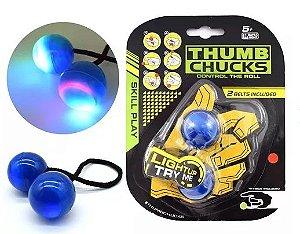 Thumb Chucks Com Luz De Led