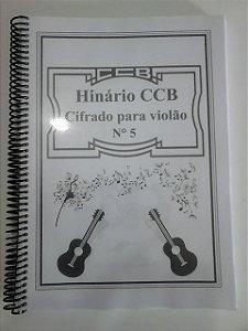 Hinário ccb n5 cifrado violão