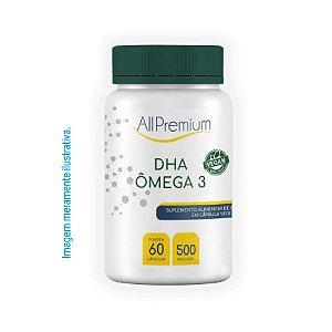 DHA Ômega 3 Vegano | 60 cápsulas