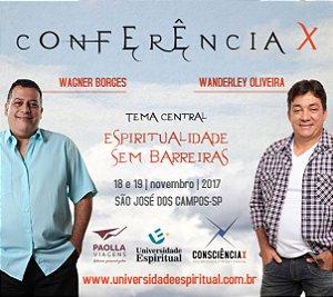 .CONFERÊNCIAX - Wagner Borges e Wanderley Oliveira em São José dos Campos [LOTE 1]