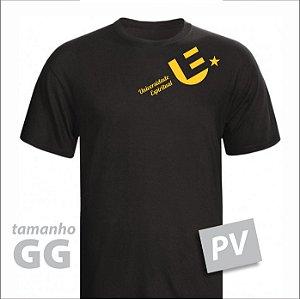 Camiseta - ORGANIZAÇÃO - PV - tamanho GG