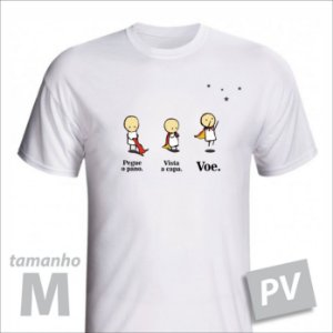 Camiseta - VOE - PV - tamanho M