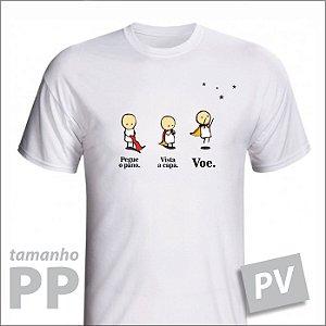 Camiseta - VOE - PV - tamanho PP