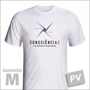 Camiseta - CONSCIÊNCIAX - PV - tamanho M