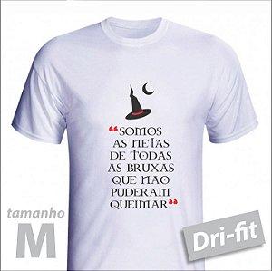 Camiseta - BRUXA - Dri-fit - tamanho M