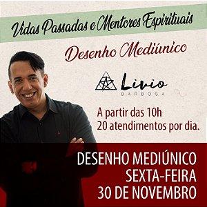 .RESERVA DE DESENHO MEDIÚNICO - SEXTA - Vidas Passadas e Mentores Espirituais