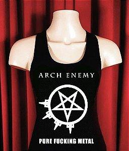 *PROMOÇÃO* Camiseta Arch Enemy Pintada a Mão