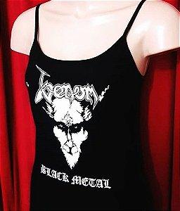 Alcinha Venom Black Metal