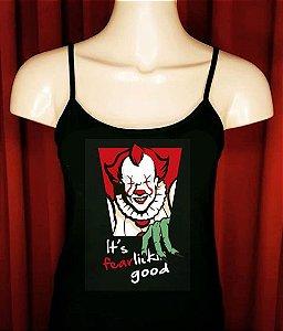 Camiseta IT (A Coisa) KFC Pintada a Mão