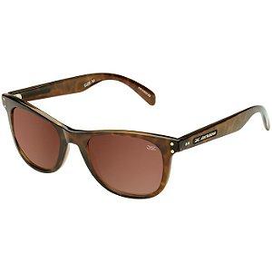 2894cd6028184 Óculos de Sol Jackdaw 39 Marrom Demi Brilho com Lentes Marrom Polarizado -  Óculos de Sol Jackdaw- Loja Oficial