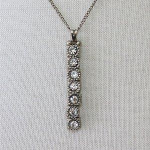Gravatinha níquel cristais