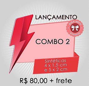 COMBO 2: dois tamanhos de etiquetas sintéticas