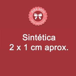 Etiquetas Sintéticas 2 x 1 cm