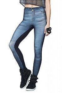 Calça Legging Wild Black Jeans