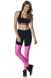 Legging Fusô - Pink Gym