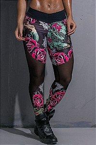 Calça Legging Rose and Thorns