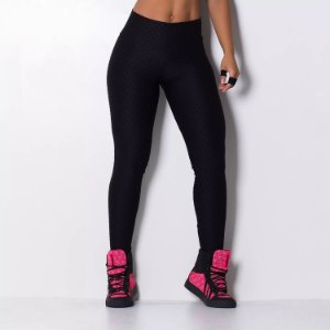 Legging Fitness Waves Texture Preto - cod02006 cod02007