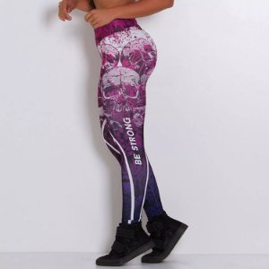 Legging Fitness Sublimada Blots - cod01999 cod02000