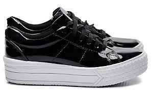 Tênis Hardcorefootwear CLASSIC VERNIZ PRETO - cod02079