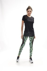 legging basic estampada cod02091 Tam U