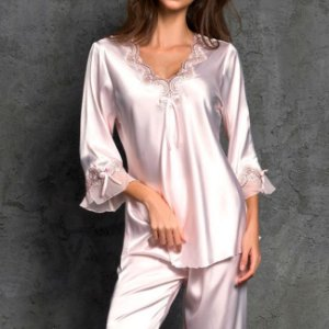 Pijama Feminino Long Cetim