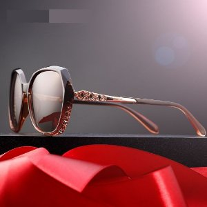 Óculos de Sol Feminino Polarizado Luxo