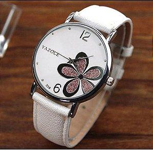 Relógio Feminino Yazole Flor