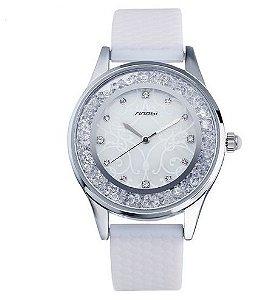 Relógio Feminino Sinobi Silicone