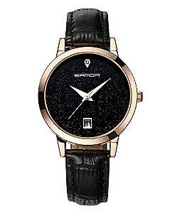 Relógio Feminino Sanda Black