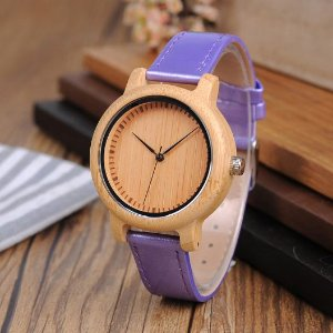 Relógio Feminino Bobobird Purple
