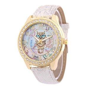Relógio Feminino North Coruja