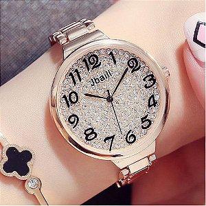 Relógio Feminino Jbaili Bling