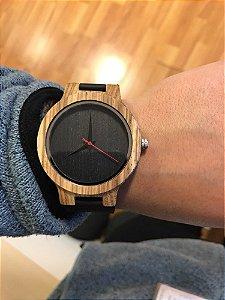 Relógio Feminino de Bambu Panama