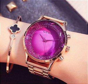 Relógio Feminino Guou Celebridades