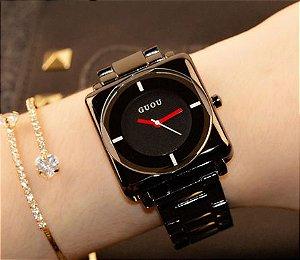 Relógio Feminino Guou Black