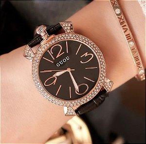 Relógio Feminino Guou Francês
