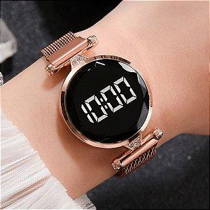Relógio Feminino Digital Magnético