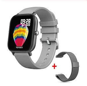 Relógio Eletrônico Smartwatch P8 + 1 Pulseira Magnética