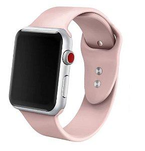 Pulseira em Silicone Lisa - estilo Apple